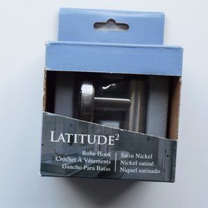 NIB Satin Nickel Robe Hook